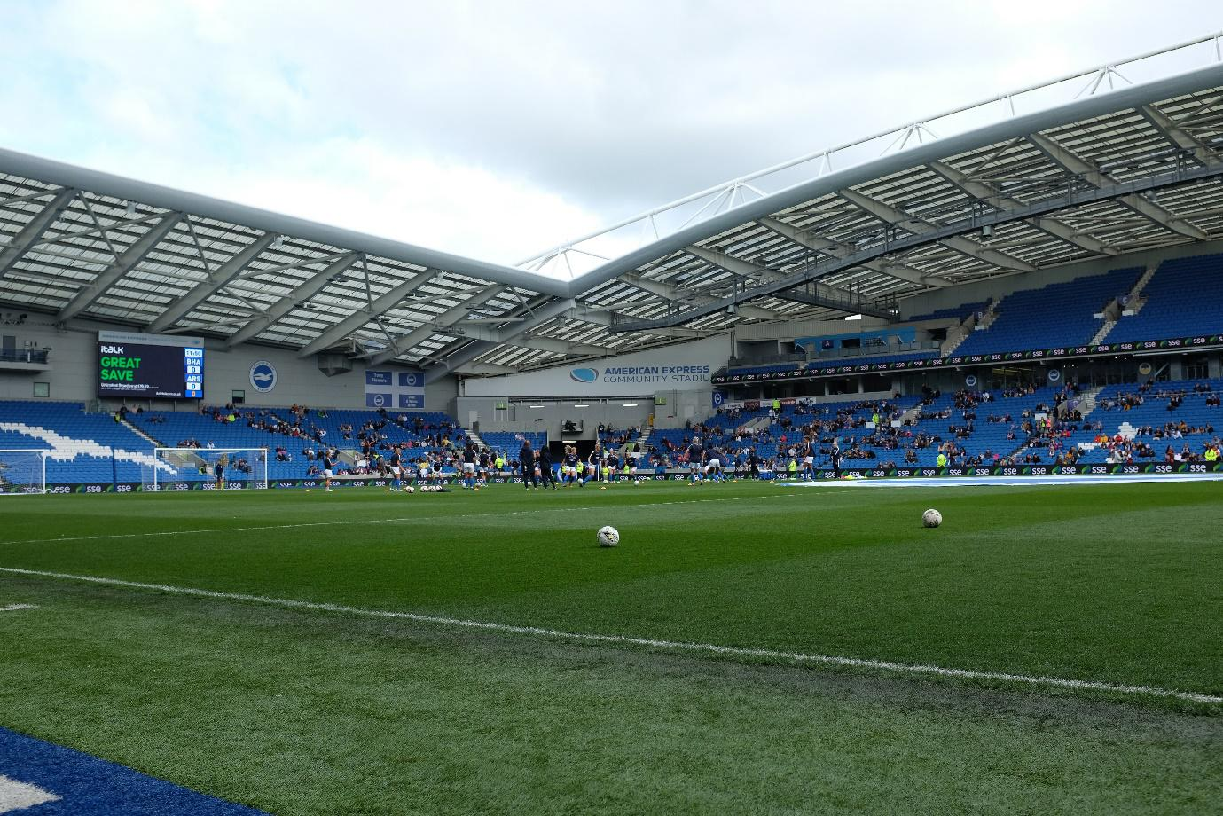 Brighton and Hove Albion Ground