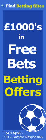 best betting bonuses at findbettingsites.co.uk